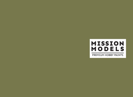 Mission Models Paint - US Army Olive Drab Faded 1 FS 34088 30ml