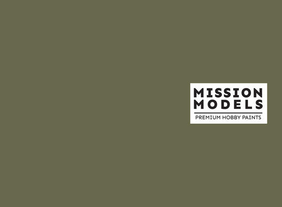Mission Models Paint - US Army Olive Drab Faded 2 30ml