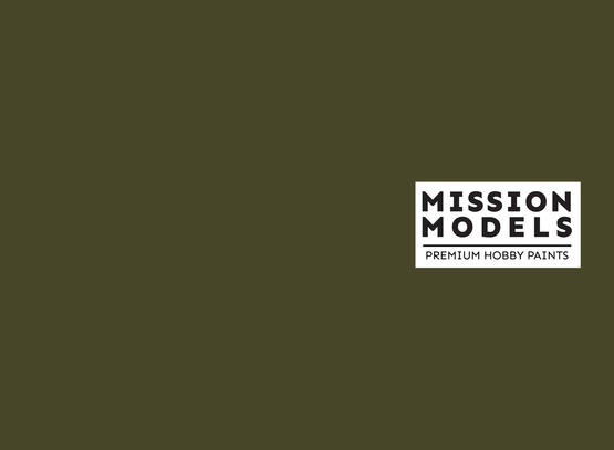 Mission Models Paint - US Army Olive Drab FS 33070 30ml