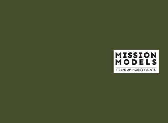 Mission Models Paint - Russian Dark Olive FS 34102 30ml