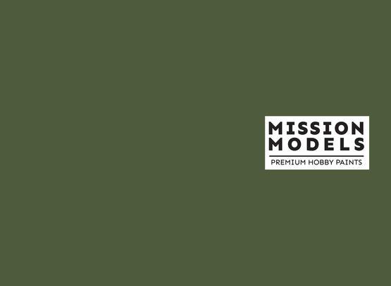 Mission Models Paint - Russian Dark Olive 2 FS 34096 30ml