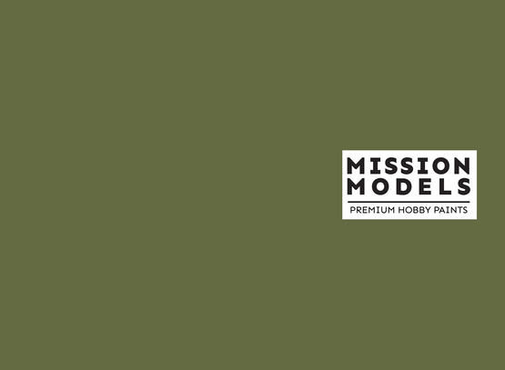 Mission Models Paint - Russian Dark Olive Faded 1 FS 34096 30ml