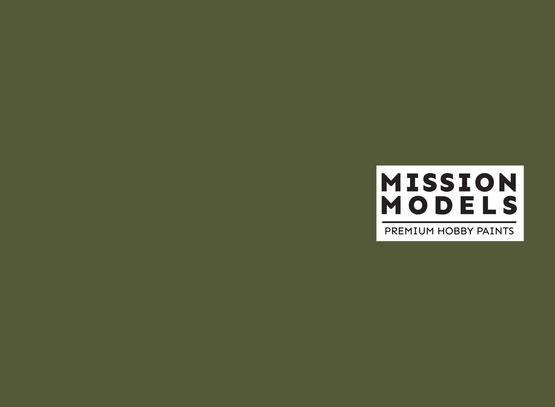 Mission Models Paint - Russian Dark Green 4BO FS 34079 30ml
