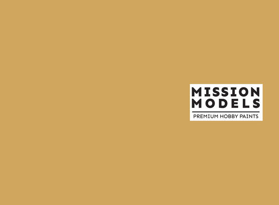 Mission Models Paint - British Sand yellow Modern AFV 30ml