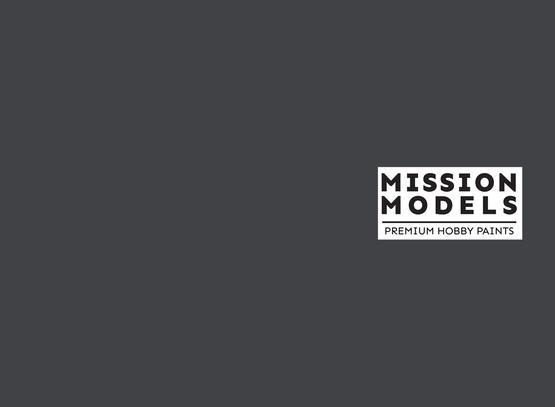 Mission Models Paint - Tire Black 1 30ml