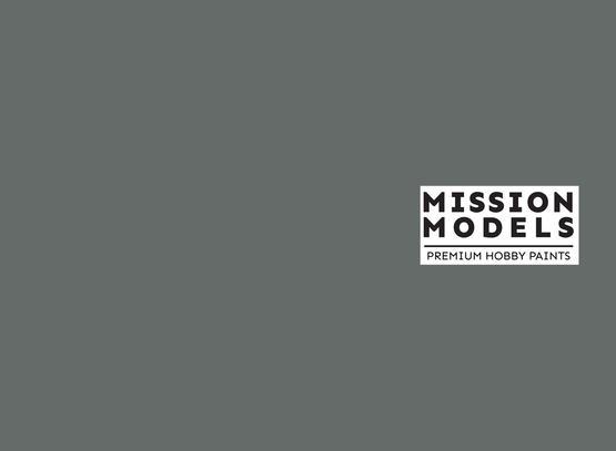 Mission Models Paint - British Slate Grey RAL 7016 30ml
