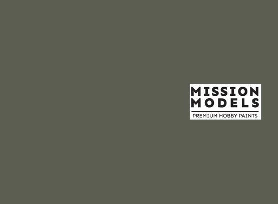 Barva Mission Models - šedozelená, Graugrun RLM 74 30ml