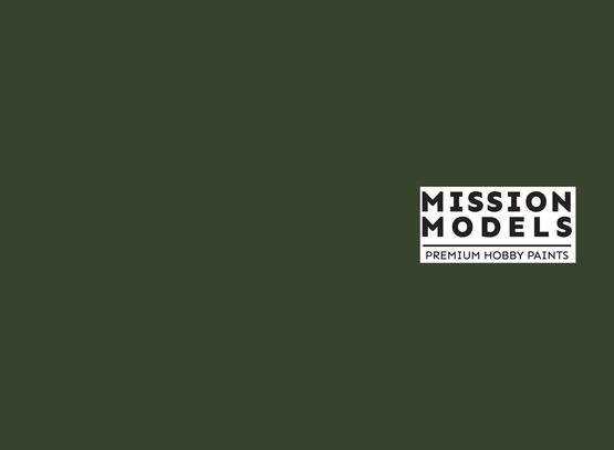 Mission Models Paint - US Dark Green FS 34079 30ml