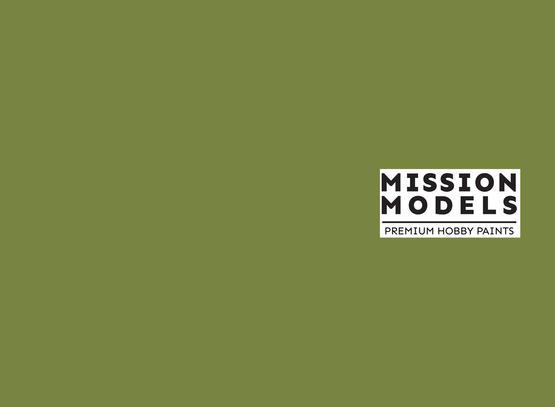 Mission Models Paint - US Interior Green FS 34151 30ml