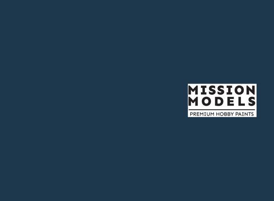 Mission Models Paint - Gloss Sea Blue FS 15042 30ml