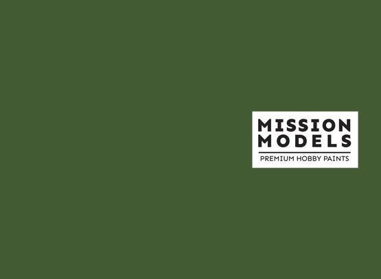 Mission Models Paint - US Medium Green FS 34102 30ml