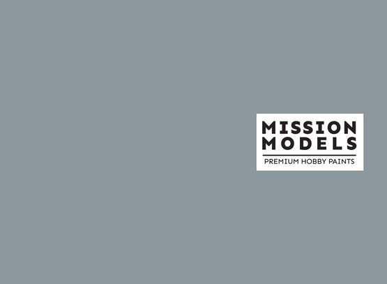 Краска Mission Models - серая, Light Ghost Gray FS 36375 30 мл