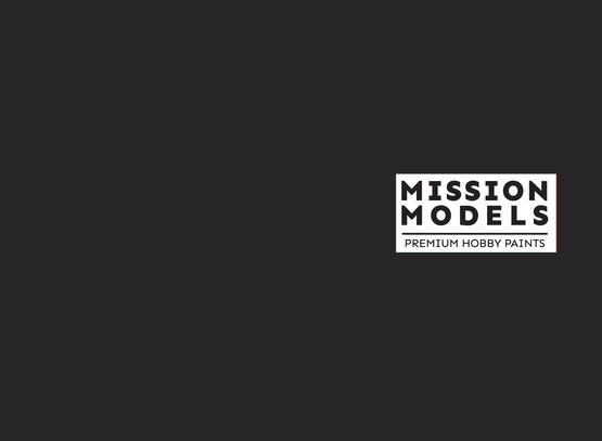 Mission Models Paint - Worn Black Grey Tires / Camo 30ml