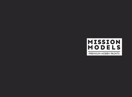 Mission Models Paint - Worn Black Grey Tires / Camo 30ml