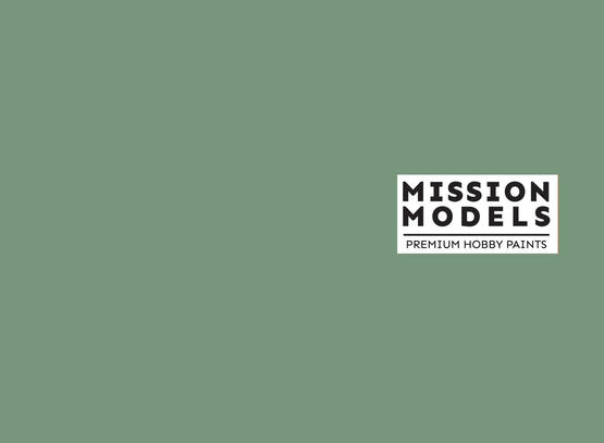 Mission Models Paint - M3 Mitusbishi Interior Green 30ml