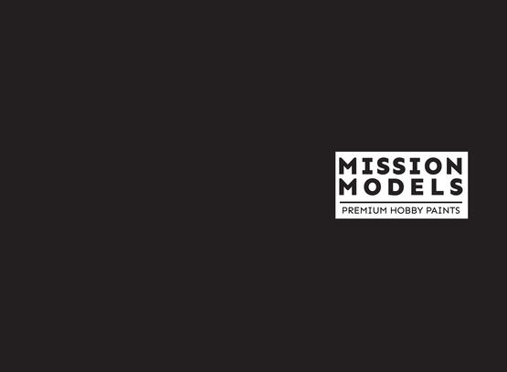 Mission Models Paint - Black Primer 30ml