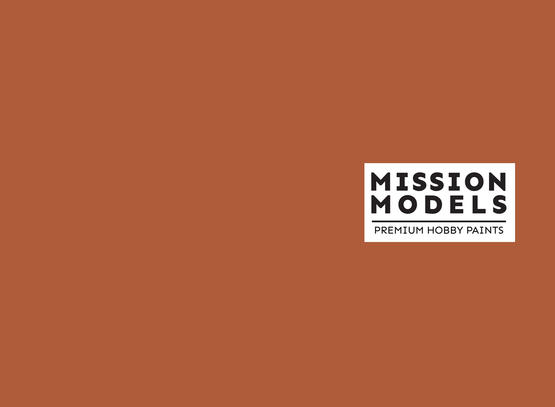 Barva Mission Models - světlá rez, Light Rust 1 30ml