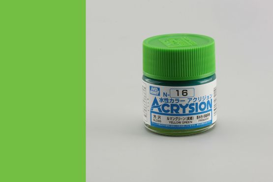 Acrysion - yellow green