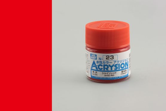 Acrysion - shine red