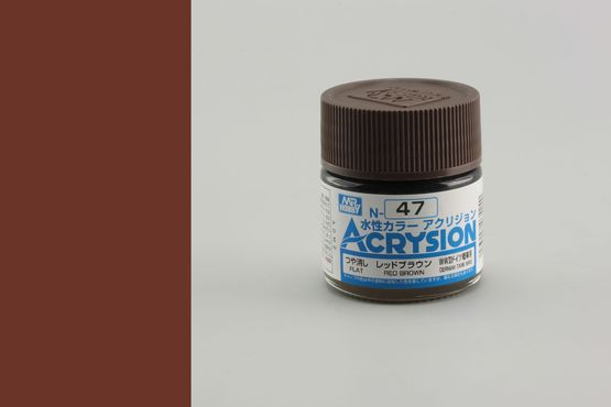 Acrysion - red brown