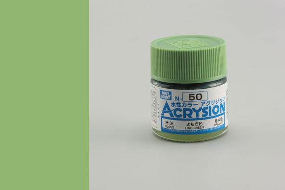 Acrysion - lime green