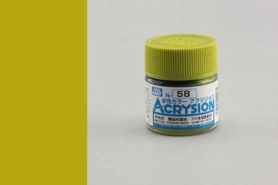 Acrysion - interior green