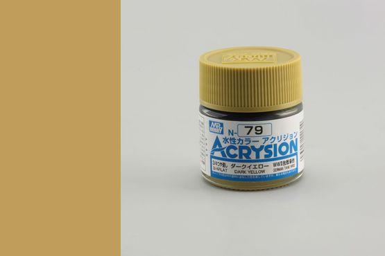 Acrysion - dark yellow (sandy yellow)