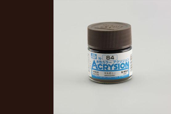 Acrysion - mahagony