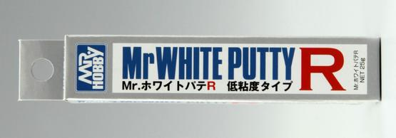 Mr. White Putty R (low viscosity) 25g  - 1