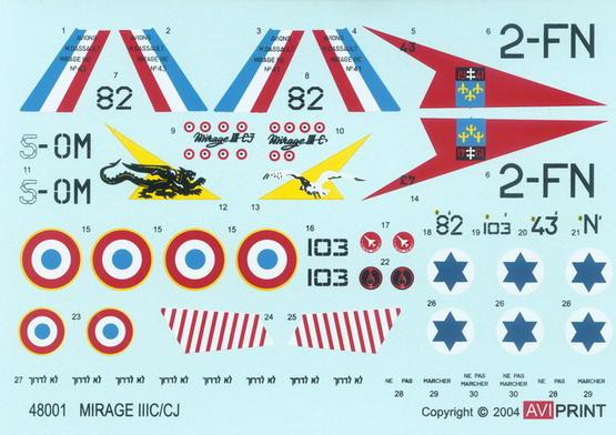 Mirage 1/48  - 1