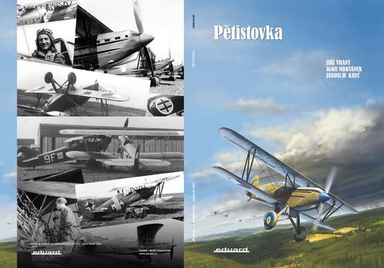 Pětistovka - Avia B.534 - book
