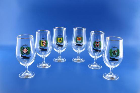 Eduard Anton VIII. Beer glass collection