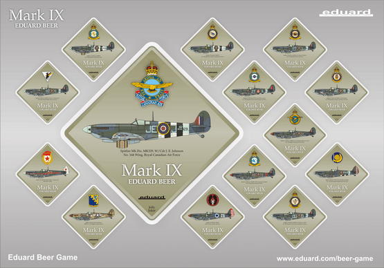Mark IX Beer Coaster - collectable edition (1 pc)