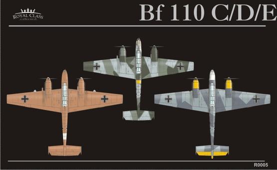Bf 110 Royal Class 1/48