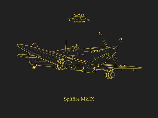 Spitfire Mk.IX  ROYAL CLASS 1/48
