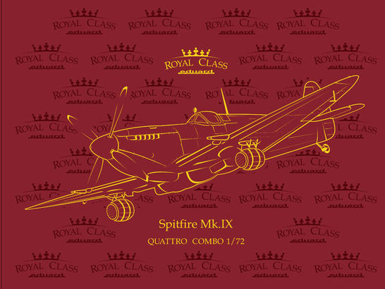 Spitfire Mk.IX  QUATTRO COMBO 1/72