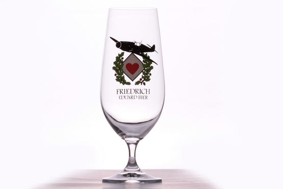 Eduard Friedrich Beer glass - JG 77
