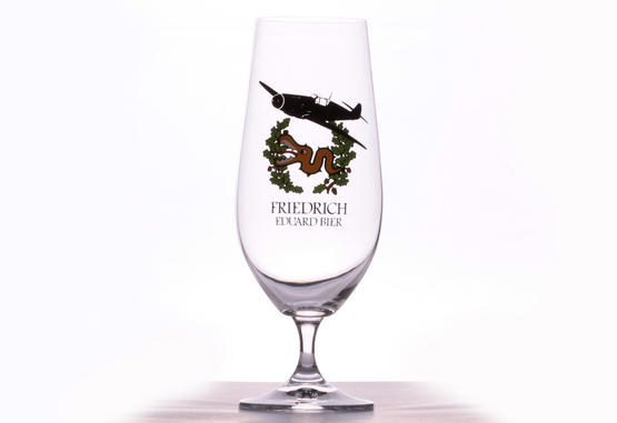 Eduard Friedrich Beer glass - I./JG 3