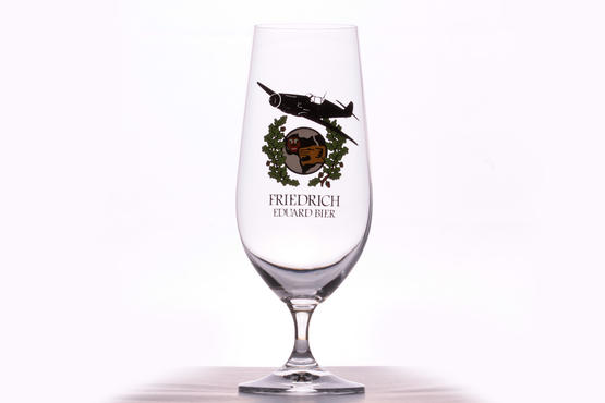 Eduard Friedrich Beer glass - JG 27