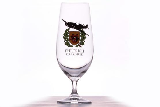 Eduard Friedrich Beer glass - 9./JG 54