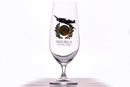 Eduard Friedrich Beer glass - JG 51