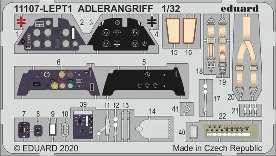 ADLERANGRIFF PE-set 1/32  - 1
