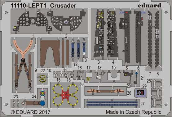 Crusader PE-set 1/48  - 1