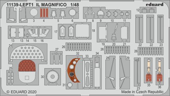 IL MAGNIFICO PE-set 1/48