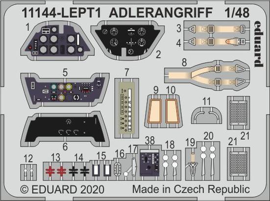ADLERANGRIFF PE-set 1/48  - 1