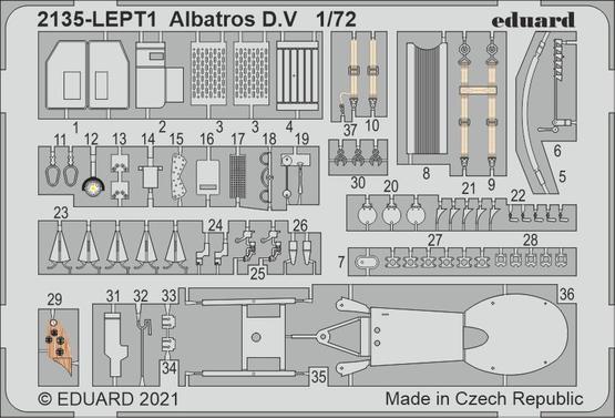 Albatros D.V PE-set 1/72
