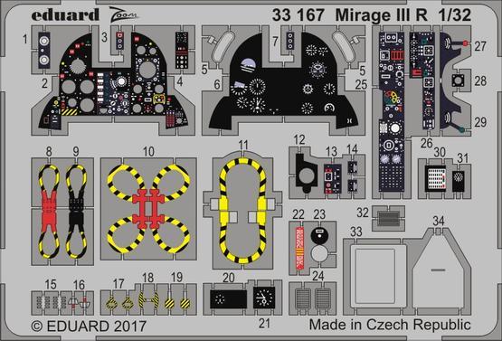 Mirage III R 1/32