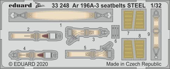 Ar 196A-3 стальные ремни 1/32