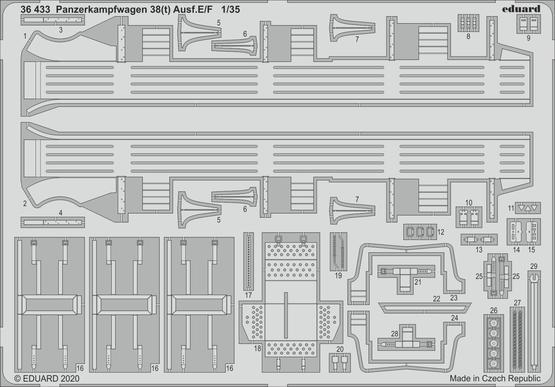 Panzerkampfwagen 38(t) Ausf.E/F 1/35