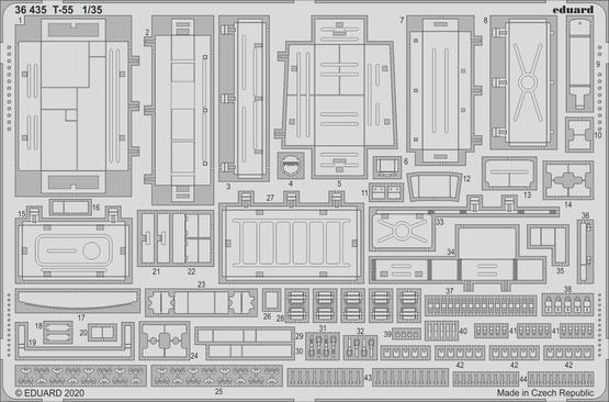 T-55 1/35